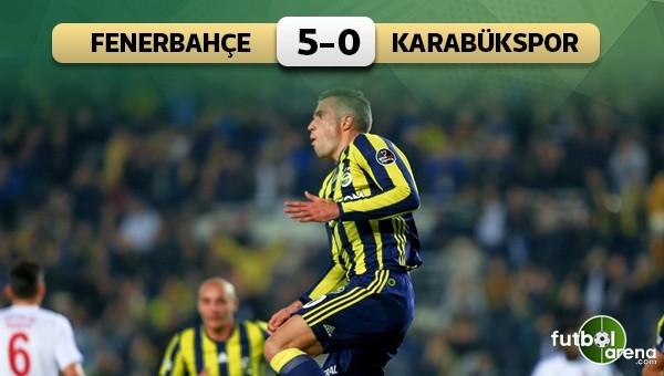 Fenerbahçe Kadıköy'de gol yağdırdı