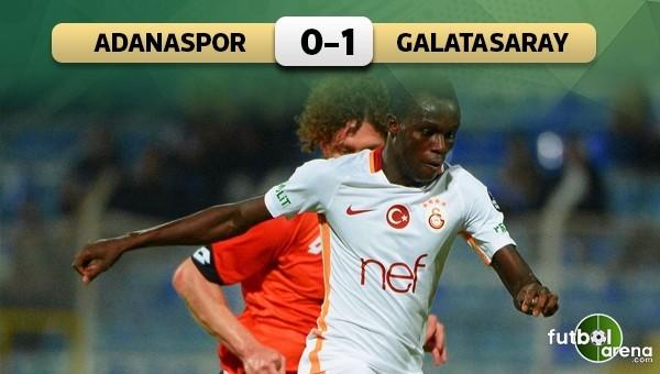 Galatasaray, Adanaspor'u tek golle geçti