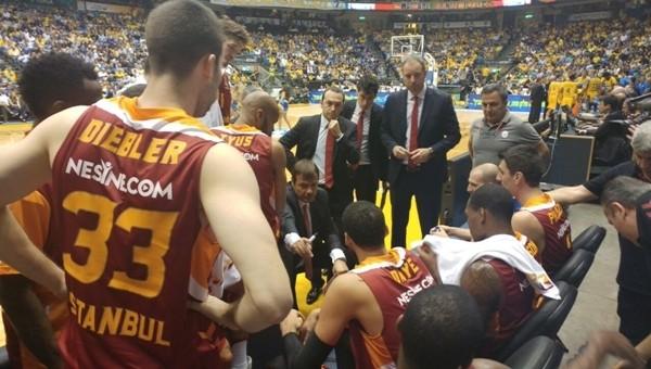 Galatasaray, Maccabi Tel Aviv'e mağlup oldu
