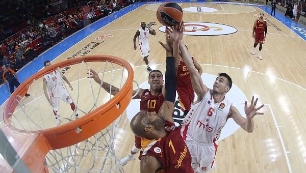 Galatasaray Odeabank son saniyede kaybetti