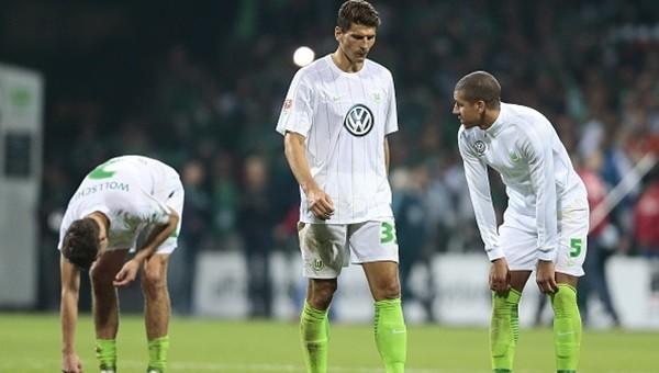 Gomez yine atamadı Wolfsburg kaybetti