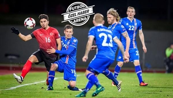 İzlanda sanki 12 kişi ile oynadı