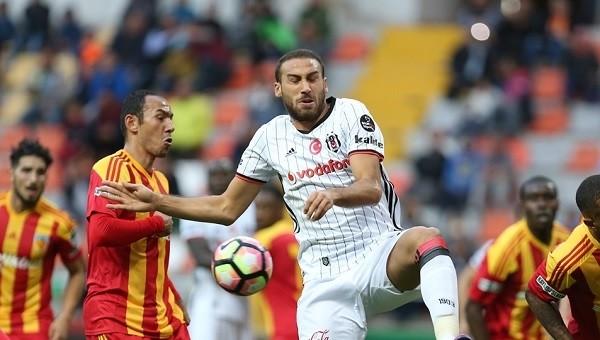 Kayserispor - Beşiktaş maçında en fazla isabetli şut atan isim Cenk Tosun