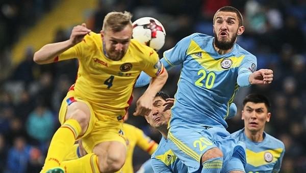 Kazakistan deplasmanında Rumen futbolcuların başına gelmeyen kalmadı