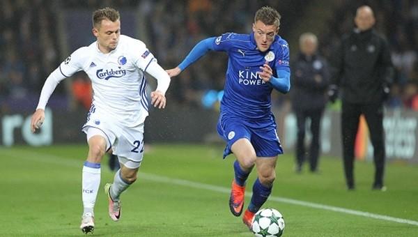 Leicester City Şampiyonlar Ligi'nde doludizgin