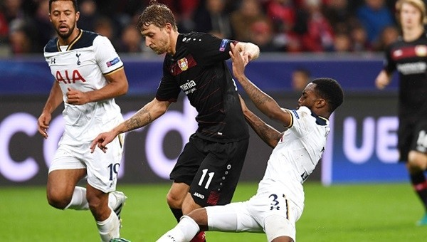 Leverkusen ile Tottenham yenişemedi
