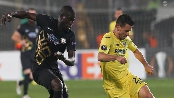 Osmanlıspor - Villarreal maçında skandal kırmızı