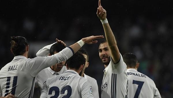 Real Madrid liderlik fırsatını kaçırmadı