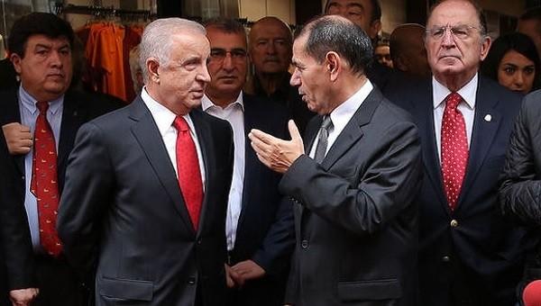 Ünal Aysal'dan Dursun Özbek'e gönderme