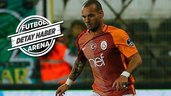 Wesley Sneijder yoksa puan da yok!
