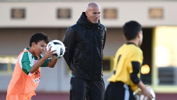 Zidane'dan medyaya gözdağı