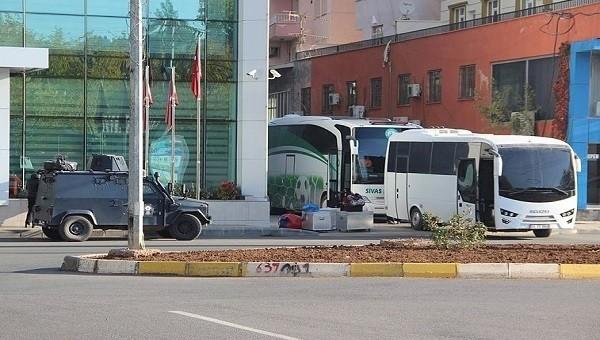 Amedspor - Sivas Belediye maçında geniş güvenlik önlemleri