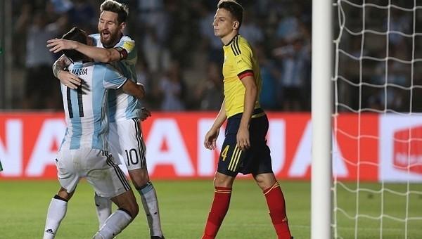 Arjantin, Kolombiya'yı farklı geçti - İZLE
