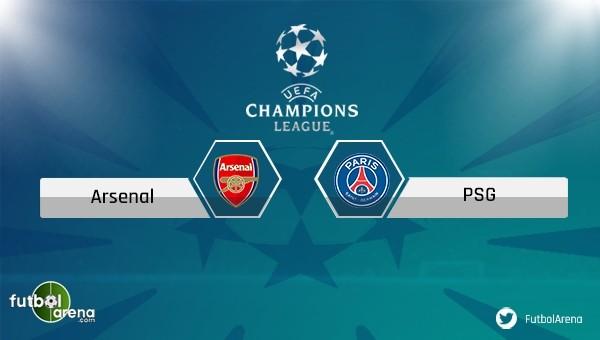 Arsenal - PSG maçı saat kaçta, hangi kanalda?