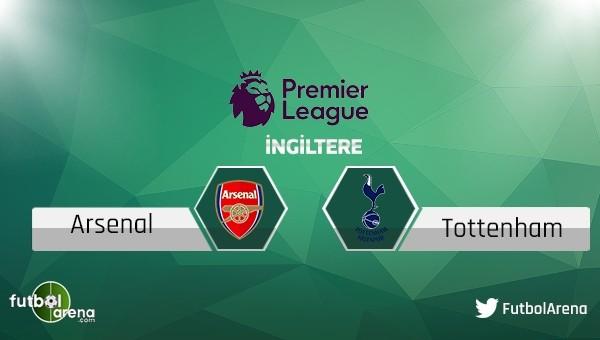 Arsenal - Tottenham Hotspur maçı saat kaçta, hangi kanalda?