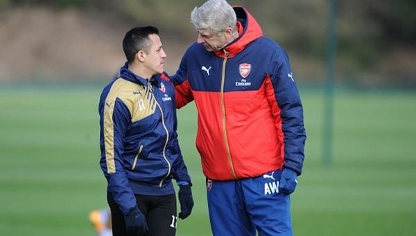 Arsene Wenger'den Alexis Sanchez müjdesi