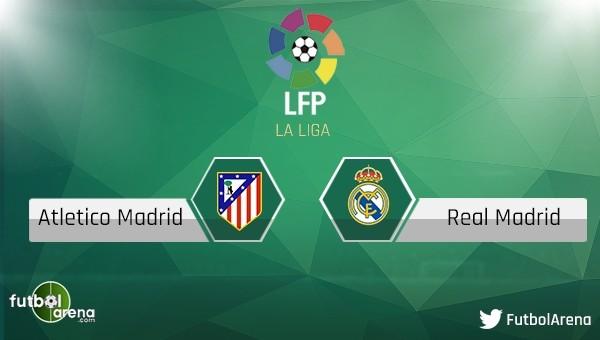 Atletico Madrid - Real Madrid maçını canlı ve şifresiz izle
