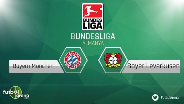 Bayern Münih - Bayer Leverkusen maçı saat kaçta, hangi kanalda?
