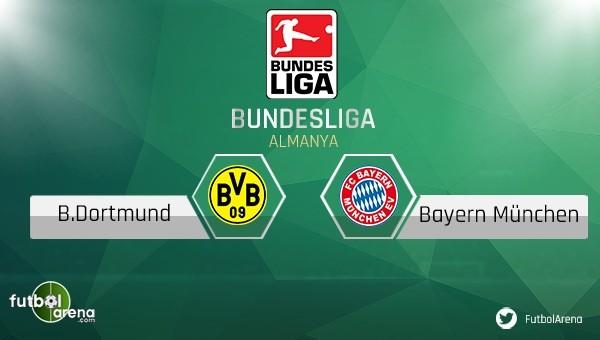 Borussia Dortmund - Bayern Münih maçı saat kaçta, hangi kanalda?
