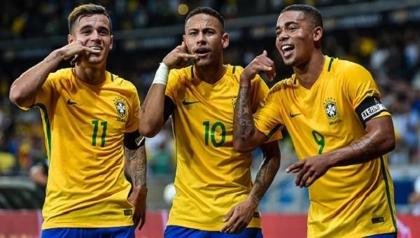 Brezilya Arjantin'i darmadağın etti - İZLE