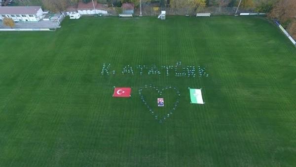 Bursaspor altyapısından Ata'ya saygı!