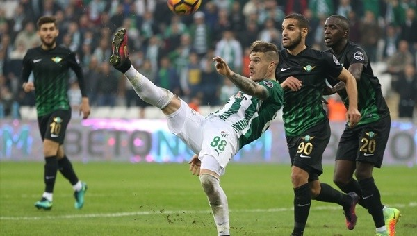 Bursaspor baskı kurdu golü bulamadı
