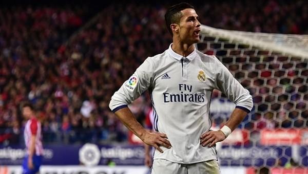 Cristiano Ronaldo, Atletico Madrid'i tek başına yıktı