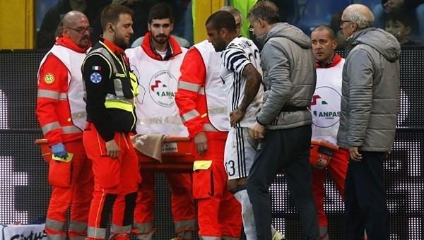 Dani Alves'in ayağında kırık tespit edildi