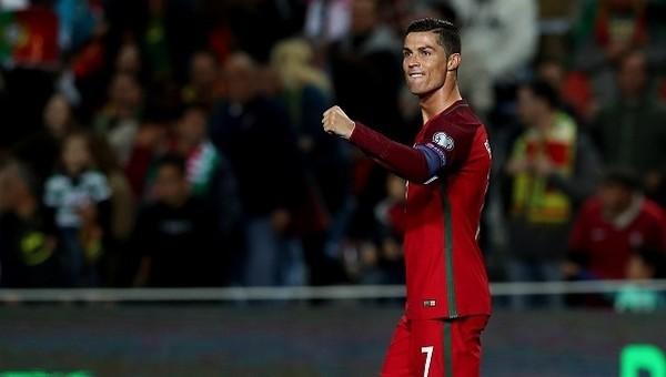 Elemelerin kralı Cristiano Ronaldo