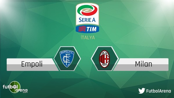 Empoli - Milan maçı saat kaçta, hangi kanalda?