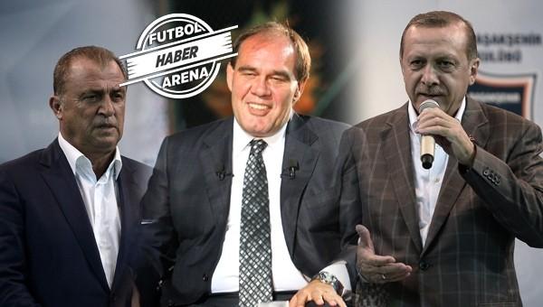 Fatih Terim, Tayyip Erdoğan ile görüştü