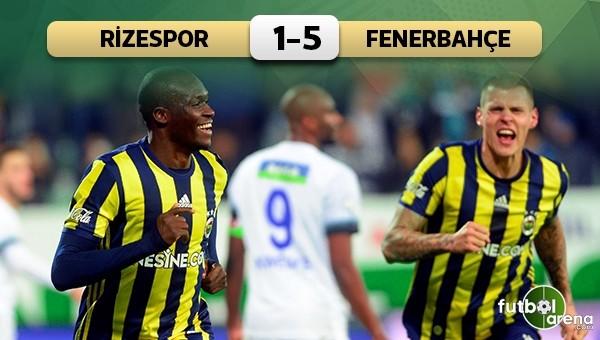 Fenerbahçe, Rize'de 'Sow' yaptı