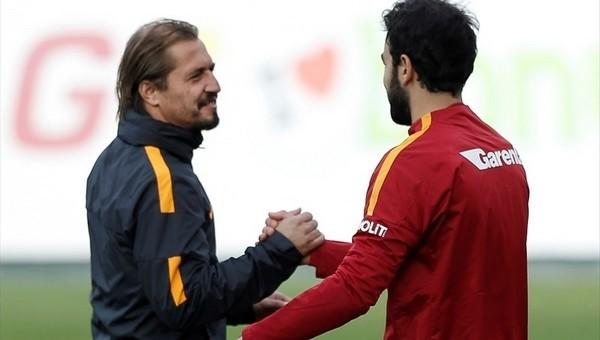 Galatasaray idmanında dikkat çeken görüntü