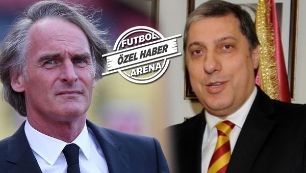 Galatasaray yönetimi Riekerink ile görüştü