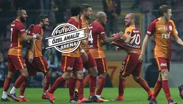Galatasaray'da performansıyla öne çıkanlar