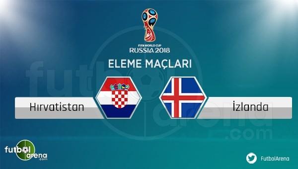 Hırvatistan - İzlanda maçı saat kaçta hangi kanalda?