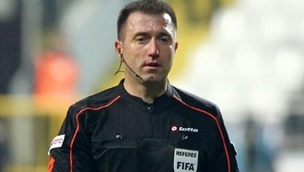 Hüseyin Göçek'e Avrupa Ligi'nde görev
