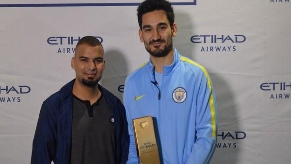 İlkay Gündoğan ayın futbolcusu seçildi