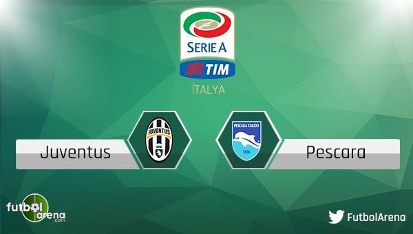 Juventus - Pescara maçı saat kaçta, hangi kanalda?