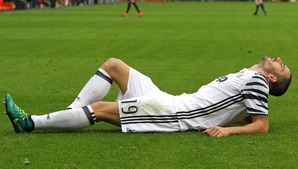 Juventus'a bir kötü haber daha