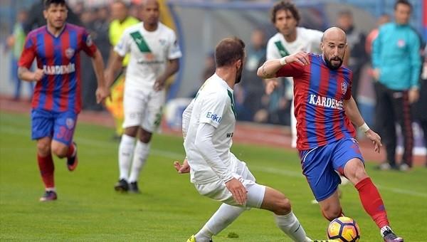 Karabükspor 0-0 Bursaspor maçı maçı özeti