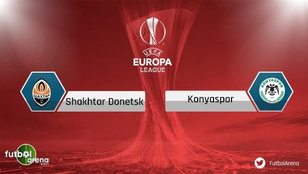 Konyaspor, Shakhtar Donetsk deplasmanında