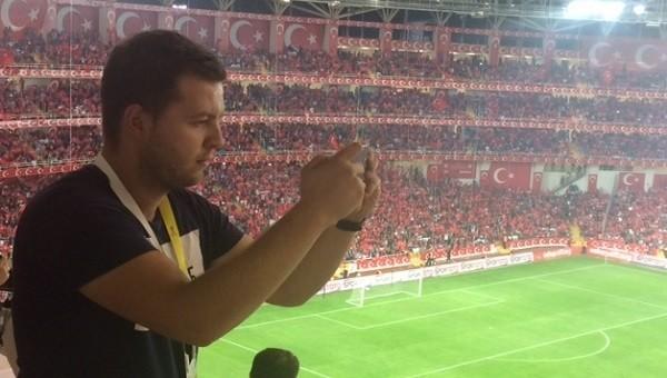 Kosovalı gazeteci hayran kaldı