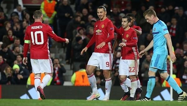 Manchester United 4-0 Feyenoord maç özeti ve golleri
