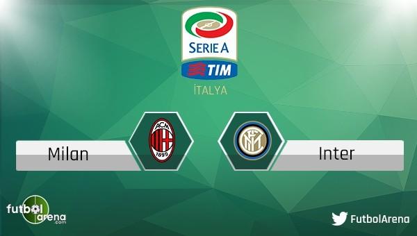 Milan - Inter maçı saat kaçta, hangi kanalda?