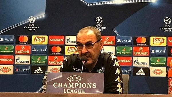 Napoli Teknik Direktörü Sarri'den Beşiktaş ve Vodafone Arena itirafı