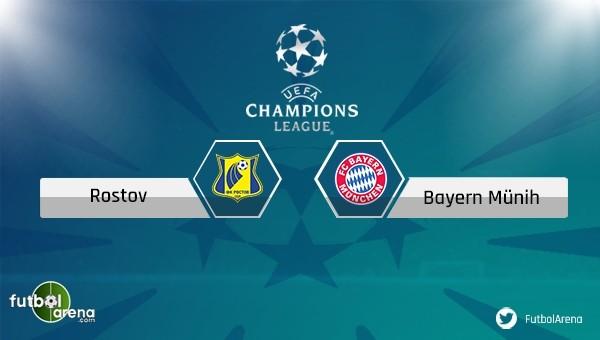 Rostov - Bayern Münih maçı saat kaçta, hangi kanalda?
