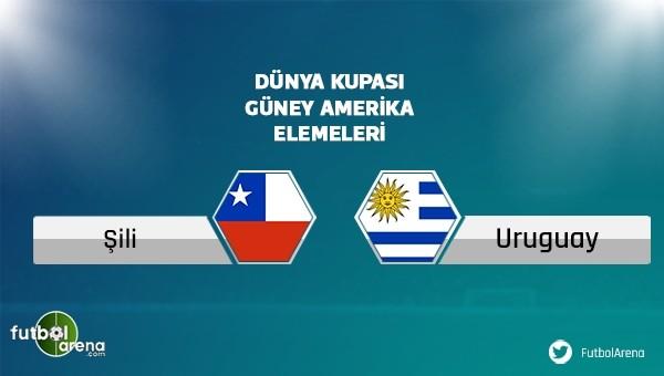 Şili - Uruguay maçı saat kaçta, hangi kanalda? (Şifresiz canlı izle)