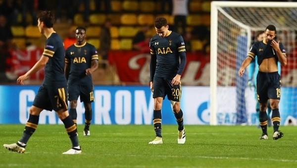 Tottenham'a Şampiyonlar Ligi şoku!
