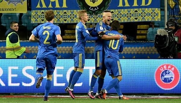 Ukrayna, Finlandiya'yı tek golle geçti (İZLE)